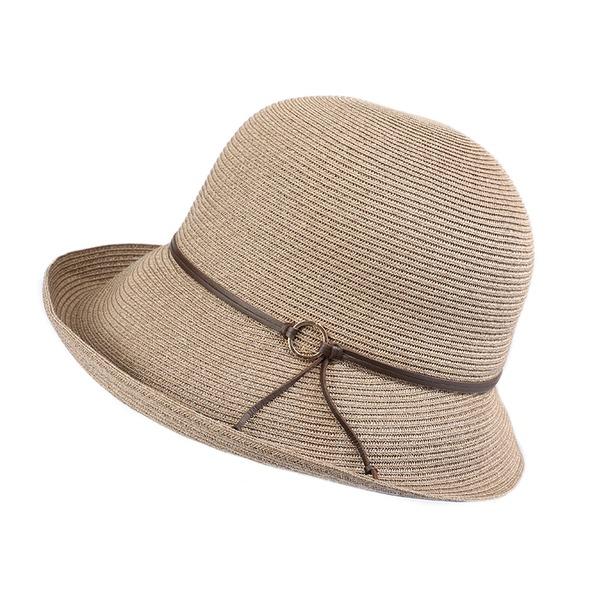 Damene ' Enkel/Fin/Jobb Polyester Strand / Sol Hatter