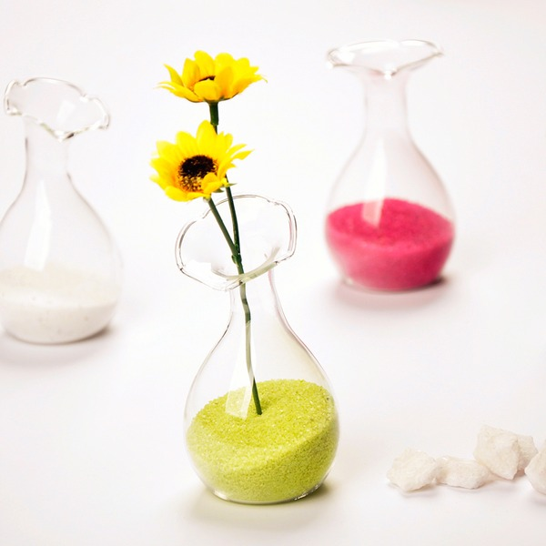 Schön Glas Vase (In Einem Stück Verkauft)