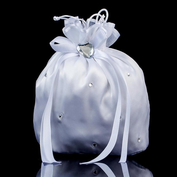 Charming Satin/Crystal/ Rhinestone Bridal Purse