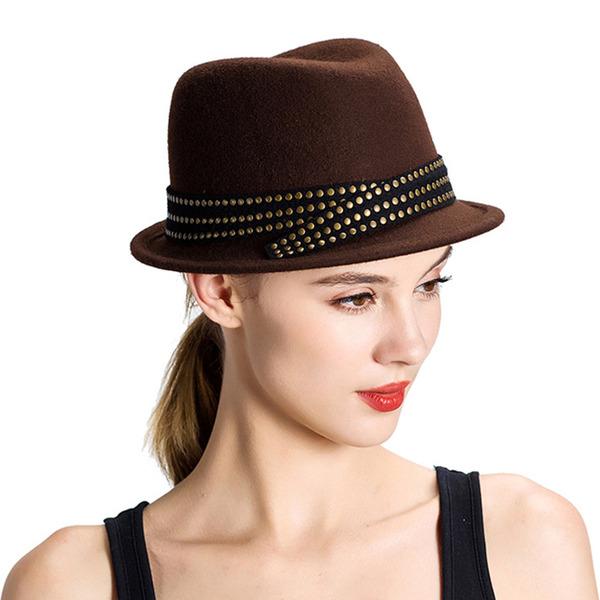 Ladies' Elegant/Simple Wool Bowler/Cloche Hats