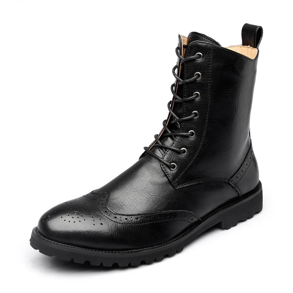 Men's Microfiber Leather Chukka Casual Men's Boots
