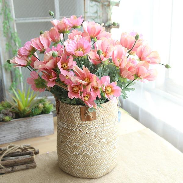 tyylikäs silkki kukka Kodin sisustus