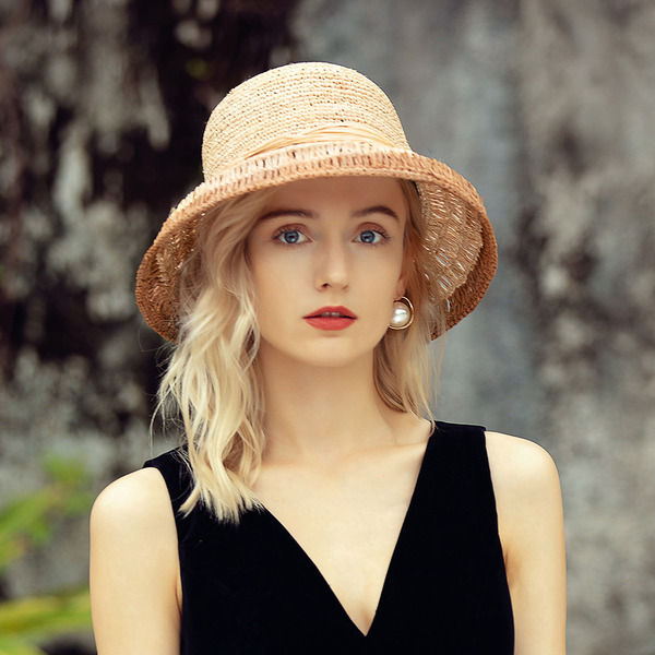 Ladies' Unique/Handmade/Charming Raffia Straw Straw Hats/Beach/Sun Hats