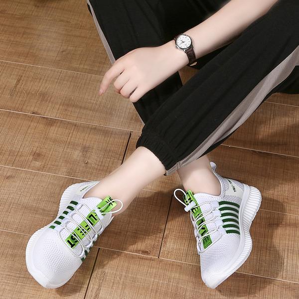Donna Tessuto Sneakers stile moderno Jazz Scarpe da Ginnastica Scarpe da ballo