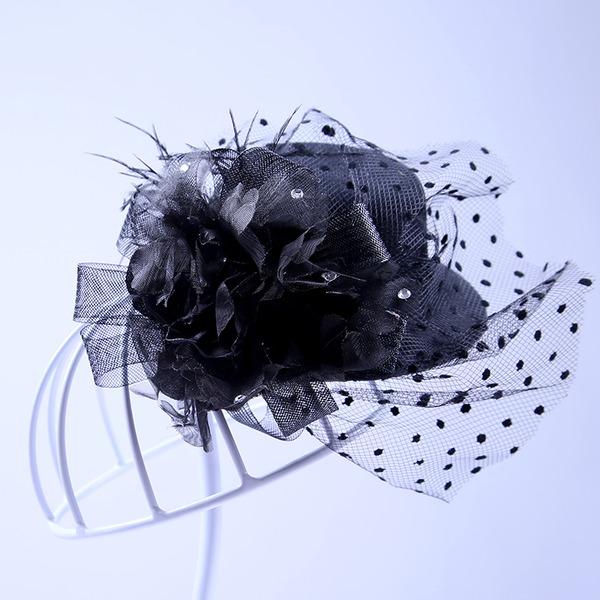 Abbigliamento donna Elegante Tyll Fiori & piume