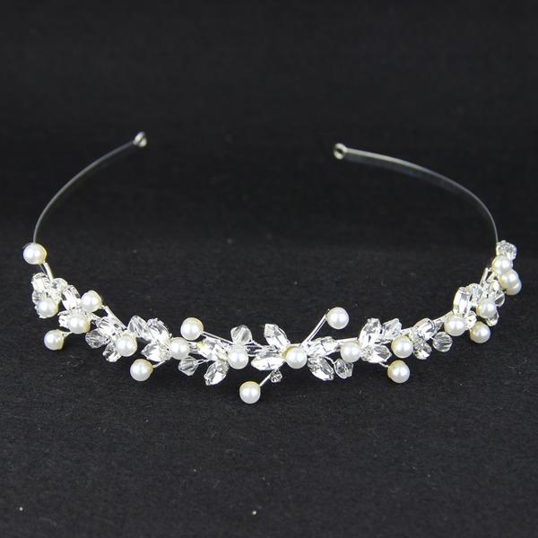 Glamour Cristal/Alliage/De faux pearl/Cristal autrichien Tiaras