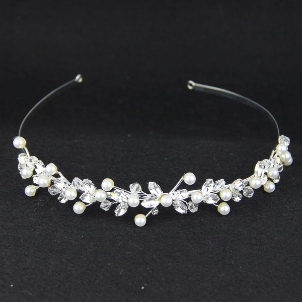 Glamorøse Crystal/Legering/Imitert Perle/Østerriksk Krystall Tiaraer