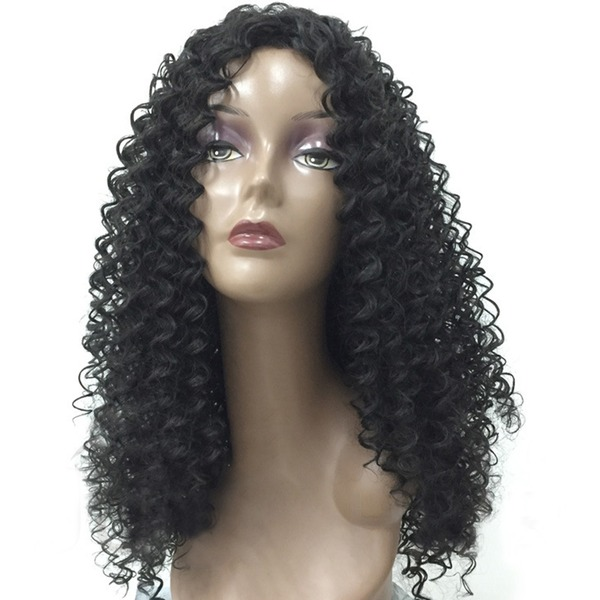 Kinky Curly Synthetic Hair Synthetic Wigs 260g