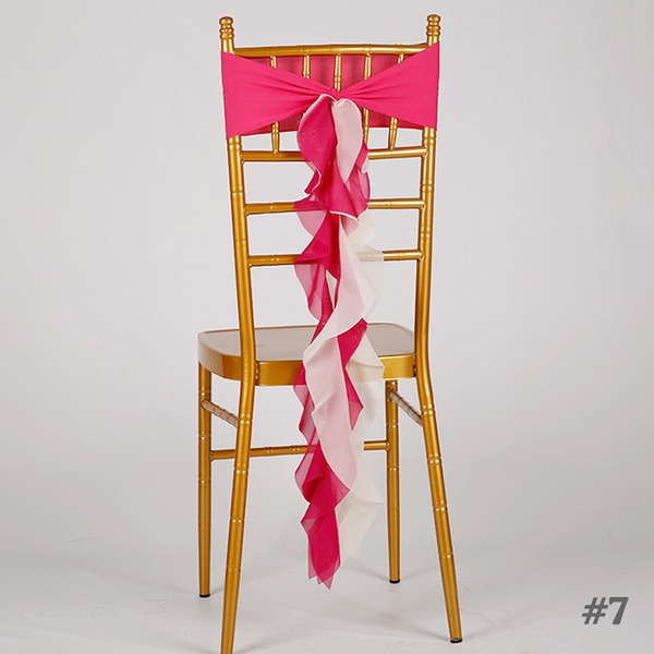 Cloth Chair Ribbon Sash Chair Ribbon Sash (set of 10)