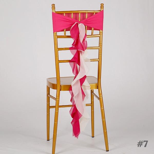 Stoff Stuhl Schärpe Stuhl Schärpe (Satz von 10)