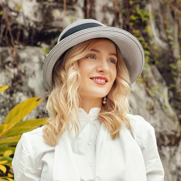 Ladies ' Speciální/Vynikající Polyester/Hedvábí S Bowknot Pláž / sluneční klobouky/Kentucky Derby Klobouky
