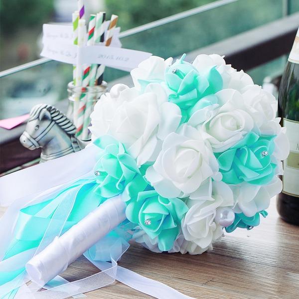 Привлекательным ЧП/горный хрусталь Свадебные букеты