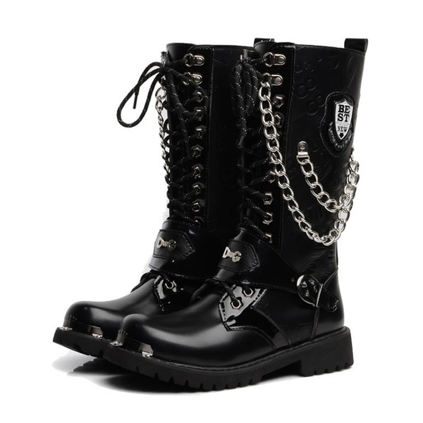 Men's Leatherette Chukka Casual Men's Boots