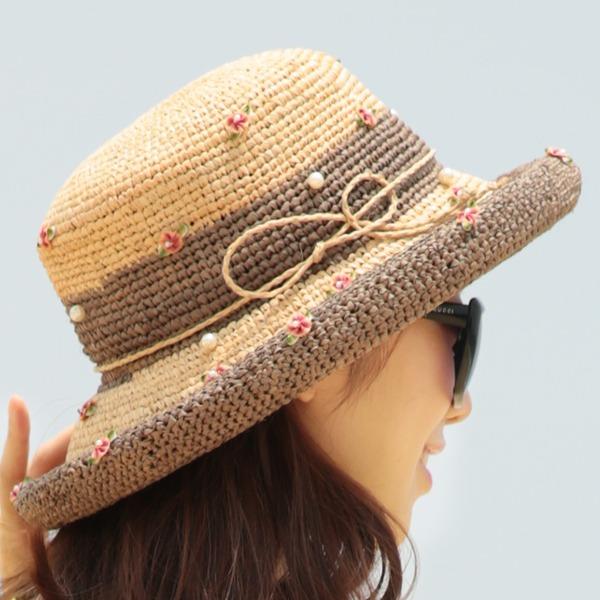 Ladies' Unique/Exquisite Raffia Straw With Bowknot Straw Hat