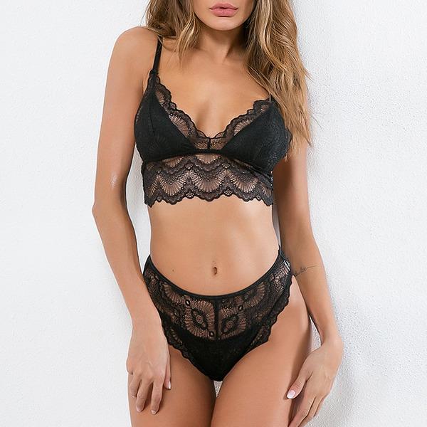 Bruids/Vrouwelijk Sexy Polyester Lingerie Set
