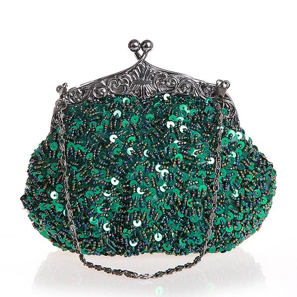 Elegant Sequin Clutches/Wristlets/Totes/Bridal Purse/Fashion Handbags/Makeup Bags/Luxury Clutches
