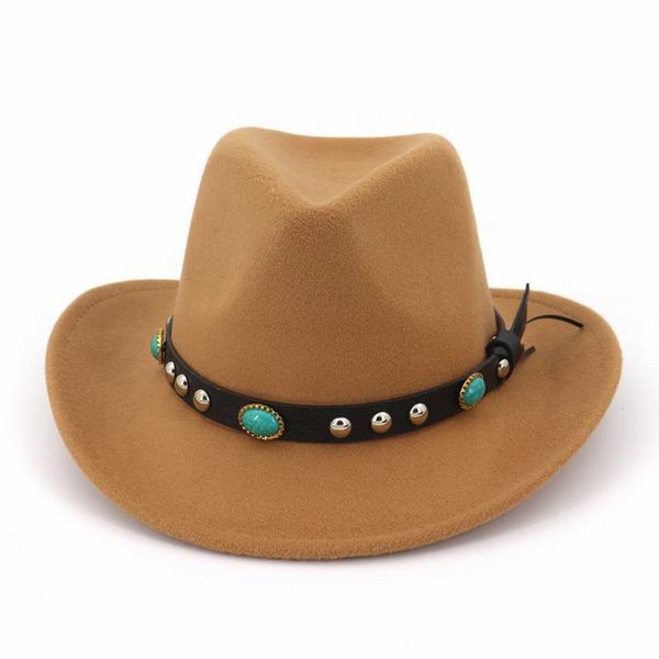 Sukupuolesta Loistokkaat/Classic/Herättävää Villa Fedora Hat/Cowboy-hattu