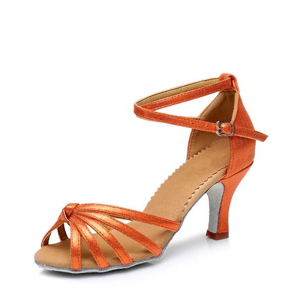 Donna Similpelle Sandalo Latino Scarpe da ballo