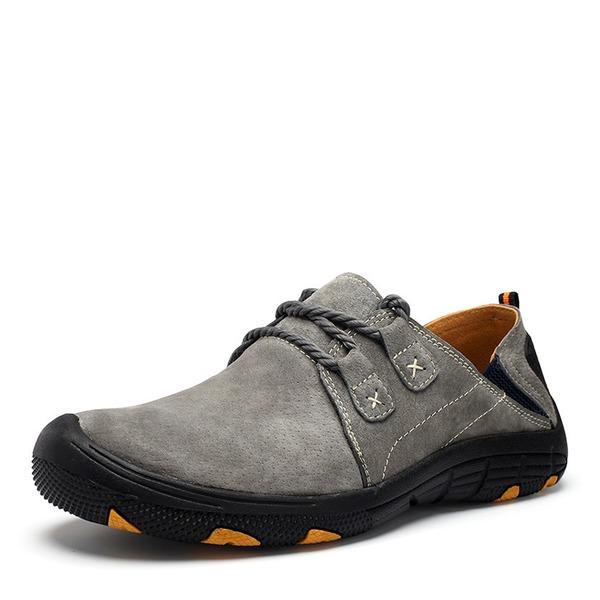 Mannen Echt Leer Vastrijgen Casual Loafers voor heren