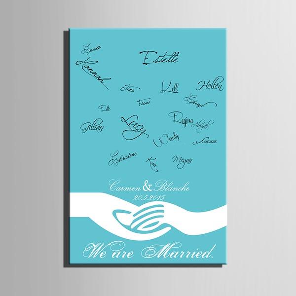 Přizpůsobené Kniha Hostů Podpisu S Rám