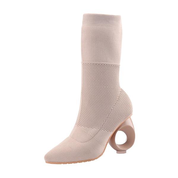 Naisten Mokkanahka Muut Avokkaat Mid-calf saappaat kengät