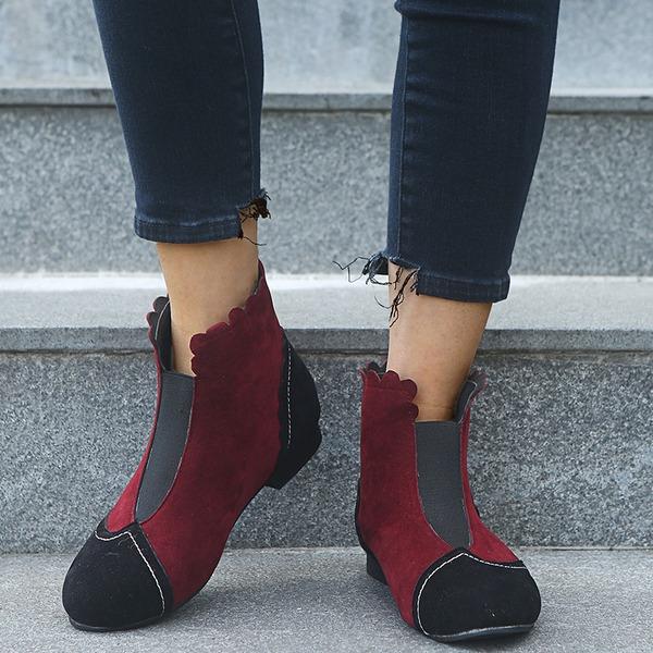 Femmes Suède Talon bottier Bottes chaussures