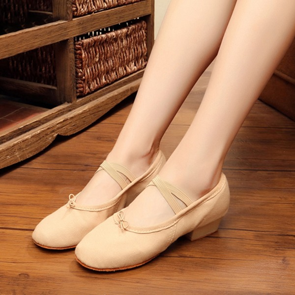 Mulheres Lona Balé Dança do ventre Sapatos de dança