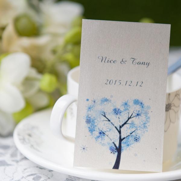 Henkilökohtaista Puu suunnittelu Paperi-kortti Tunnisteet (Sarja 50)