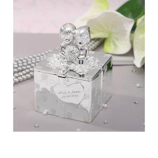 personalisé Alliage Dames Boîte à bijoux