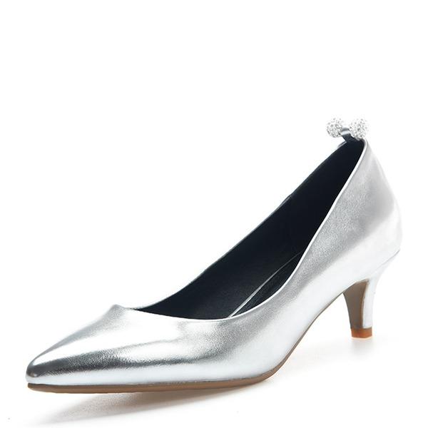 De mujer Piel brillante Tacón bajo Salón Cerrados con Otros zapatos
