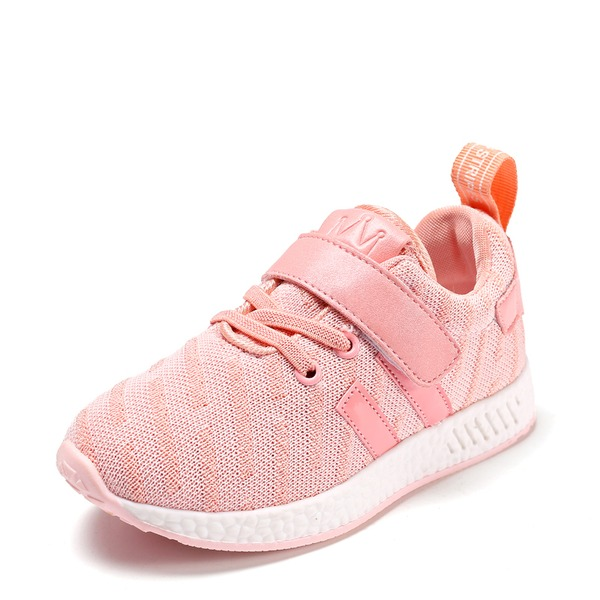 Unisex Closed Toe Mesh ploché Heel Sneakers & Athletic S Se suchým zipem