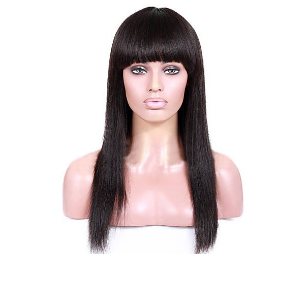 4A Nicht remy Gerade Menschliches Haar Spitze Front Perücken