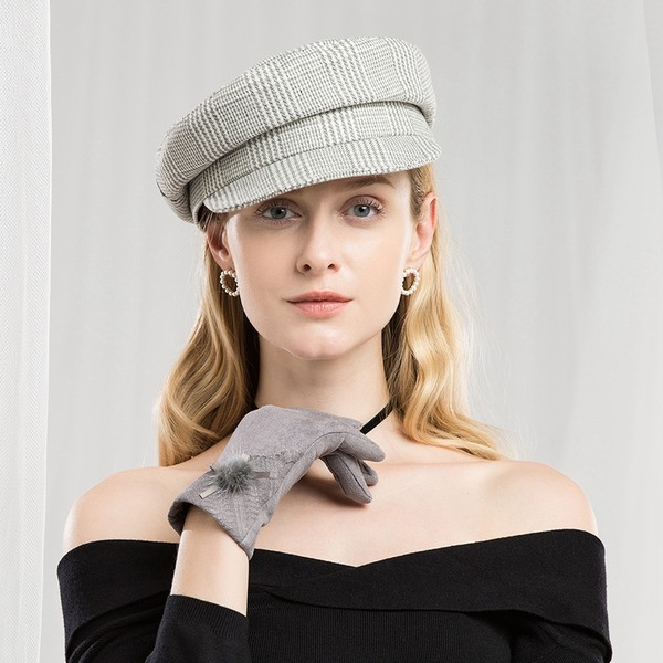 Señoras' Hermoso/Moda/Elegante/Niza poliéster Gorrita tejida / holgado
