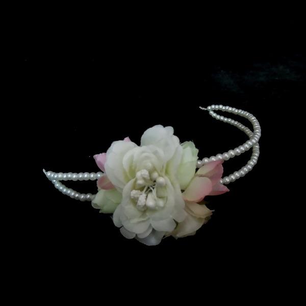 Prächtig Nachahmungen von Perlen/Kunstseide Stirnbänder