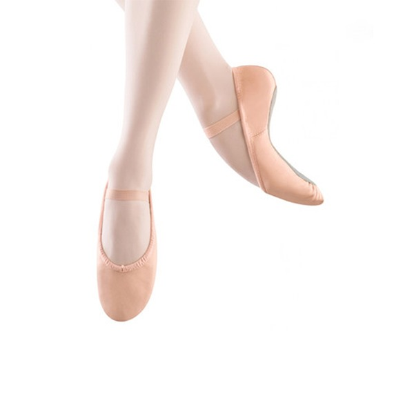 Mulheres Couro verdadeiro Sem salto Balé Sapatos de dança