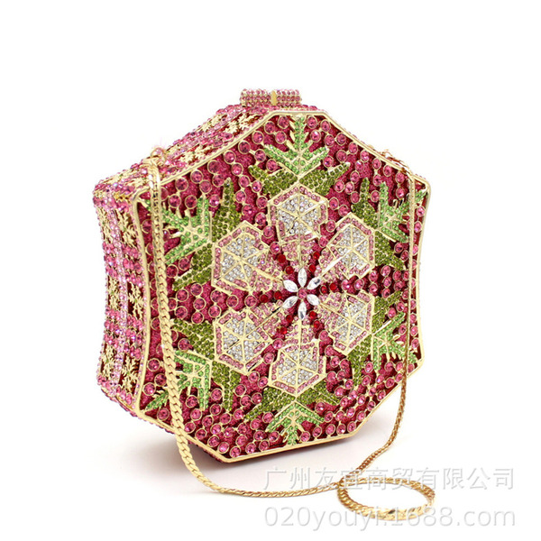 Unique/Shining/Refined Crystal/ Rhinestone Clutches/Luxury Clutches/Evening Bags