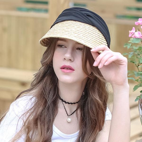 Signore Bella/Moda/Affascinante/Elegante/Unico/Incredibile/Occhi-cattura/Fascino/Fantasia Rafia paglia Beach / Sun Cappelli
