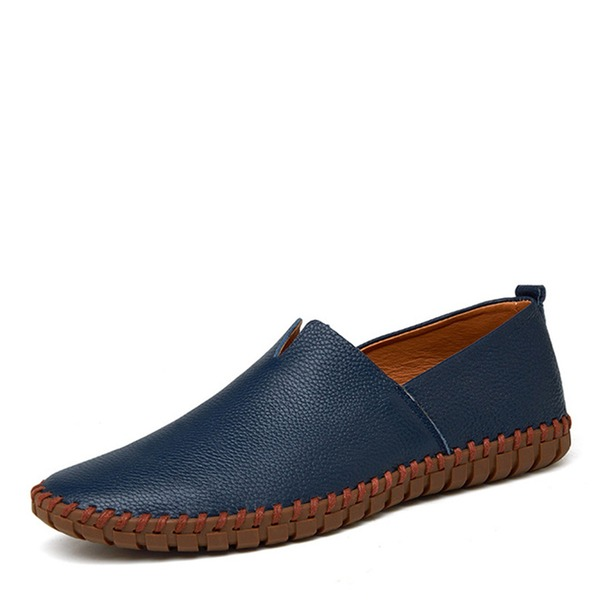 Men's Real Leather Monk-straps Casual Men's Loafers