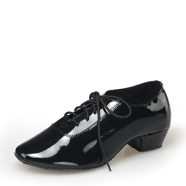 Men's Leatherette Latin Dance Shoes