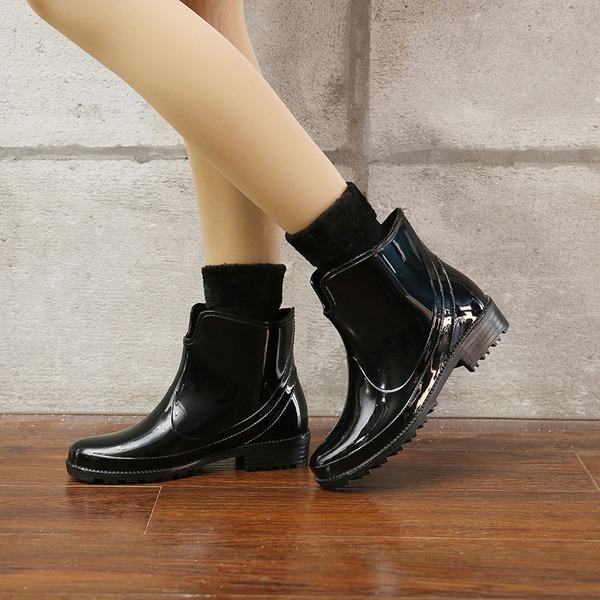 Naisten PVC Matala heel Kengät Kumisaappaat jossa Muut kengät