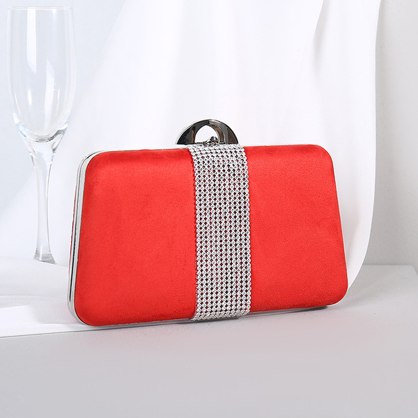 Elegant/Pretty/Attractive Suede Clutches