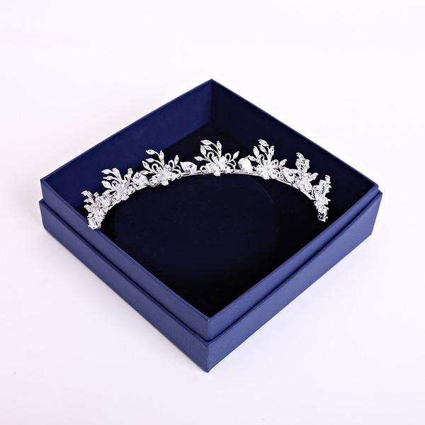 Ladies Elegant Zircon Tiaras (Sold in single piece)