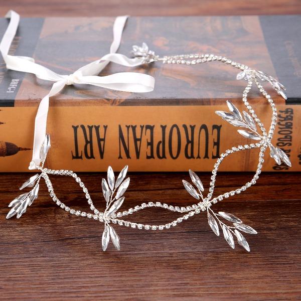 Damer Elegant Rhinestone/Legering Pannebånd med Rhinestone (Selges i ett stykke)
