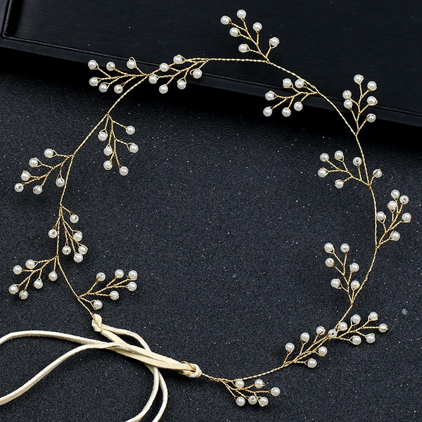Ladies Pretty Alloy/Imitation Pearls Headbands