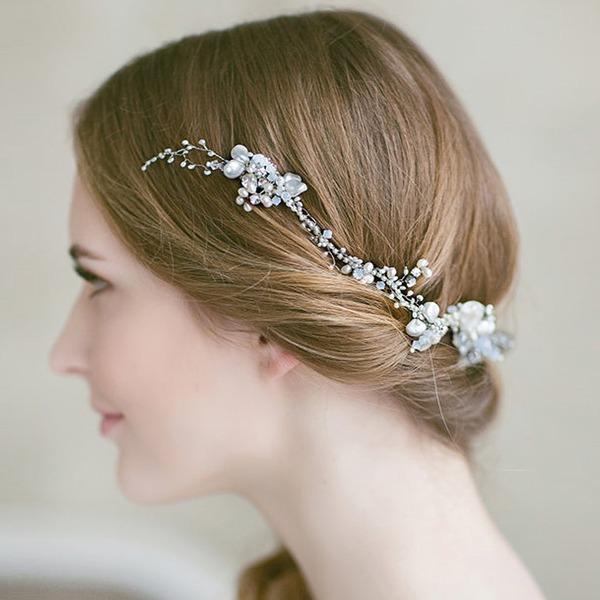 Damen Besondere Legierung Stirnbänder mit Venezianischen Perle (In Einem Stück Verkauft)