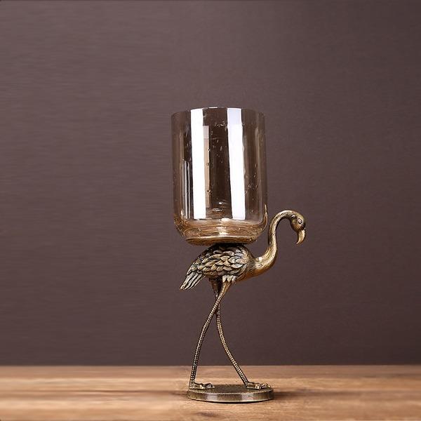 Estilo de la vendimia Metal Decoración del hogar (Sold in a single piece)
