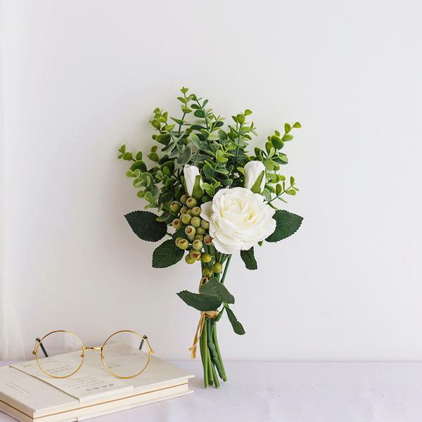 Femenino Forma libre Bayas de simulación/Flores de seda Ramos de novia -