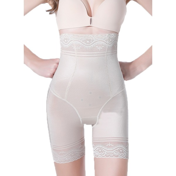 Women Classic/Elegant Chinlon/Nylon Breathability/Butt Lift High Waist Shorts Shapewear