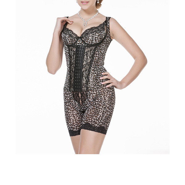 женственный/Сексуальные/элегантные Спандекс Bodysuit Моделирующее белье
