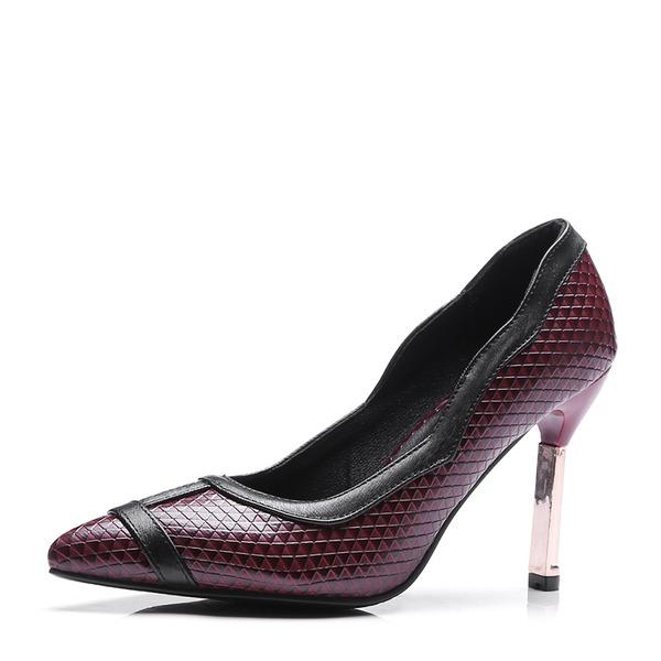 Donna Similpelle Tacco a spillo Stiletto Punta chiusa con Altrui scarpe